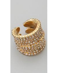 DANNIJO | Metallic Coco Ring | Lyst