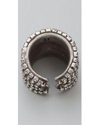 DANNIJO - Metallic Coco Ring - Lyst