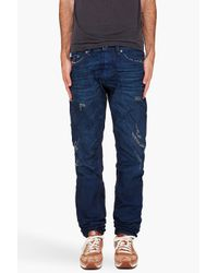 DIESEL | Blue Braddom Jeans for Men | Lyst