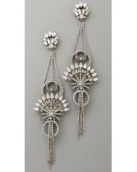 Erickson Beamon - Metallic China Club Earrings - Lyst