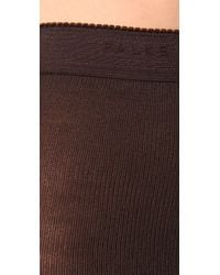Falke - Brown Striggings Cable Knit Tights - Lyst