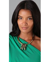 Giles & Brother - Metallic Trove Ray 10karat Goldplated Necklace - Lyst