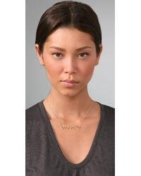 Gorjana - Metallic Vine Necklace - Lyst