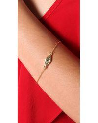 House of Harlow 1960 - Metallic Evil Eye Charm Bracelet - Lyst