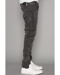 Insight - Gray The City Riot Slim Fit Jeans in Black Acid for Men - Lyst