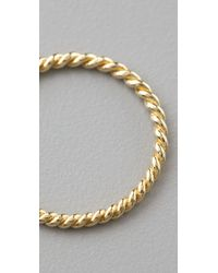 Jacquie Aiche | Metallic Twisted Waif Ring | Lyst
