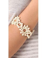 Madewell | White Enamel Beaded Bracelet | Lyst