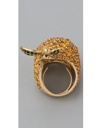 Marc By Marc Jacobs - Metallic 10th Anniversary Pear Ring - Lyst
