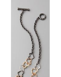 Marc By Marc Jacobs - Metallic Love Edge Mini Jumbled Heart Necklace - Lyst