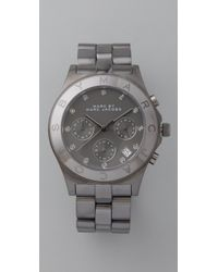 Marc By Marc Jacobs - Metallic Large Blade Chrono Watch - Lyst
