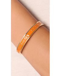 Marc By Marc Jacobs - Orange Classic Marc Graphic Logo Bangle - Lyst