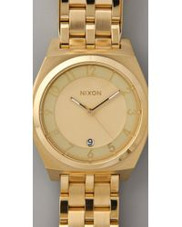 Nixon - Metallic Monopoly Watch - Lyst