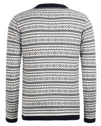 Oliver Spencer - Blue Fair Isle Knit Sweater for Men - Lyst
