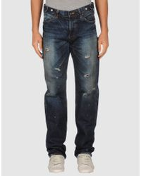 PRPS | Blue Rambler Pressed Rinse Selvedge Jeans for Men | Lyst