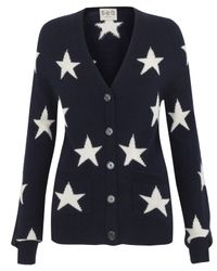 Sea | Blue Navy Star Print Cardigan | Lyst