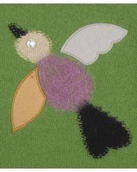 Sonia by Sonia Rykiel - Green Pistachio Bird Jumper - Lyst