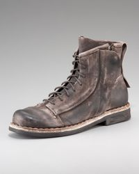 True Religion | Brown Zeus Distressed Boot for Men | Lyst
