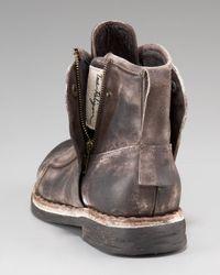 True Religion Brown Zeus Distressed Boot for men