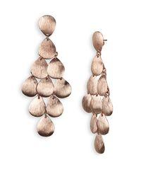 Argento Vivo | Pink Chandelier Earrings | Lyst