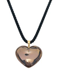 Baccarat - Metallic Romance Heart Pendant, Gold Mordore - Lyst