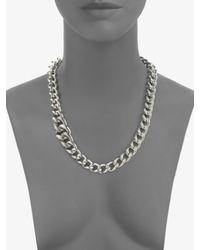 David Yurman | Sterling Silver Curb Chain Necklace | Lyst