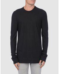 Dolce & Gabbana | Black Long Sleeve Sweater for Men | Lyst