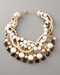 kate spade new york | Multicolor Pearl Street Necklace | Lyst