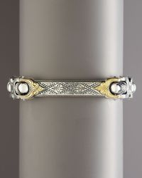 Konstantino - Metallic Adonis Id Bracelet for Men - Lyst
