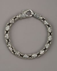 Konstantino - Metallic Paganini Shield Chain Bracelet for Men - Lyst