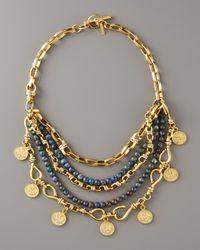 Paige Novick - Metallic Multi-strand Coin Necklace - Lyst