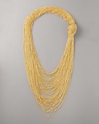 Robert Rodriguez | Metallic Knotted Chain Necklace | Lyst