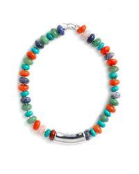 Simon Sebbag | Multicolor Multi Stone Beaded Necklace | Lyst