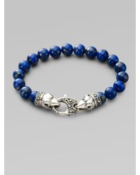 Stephen Webster - Blue Beaded Bracelet for Men - Lyst