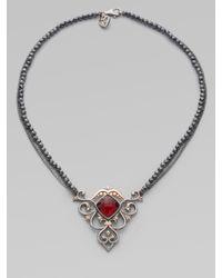 Stephen Webster | Metallic Diamond & Rose-Gold Lady Stardust Necklace | Lyst