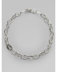 Stephen Webster - Metallic Ruby & Sterling Silver Thorn Link Necklace - Lyst