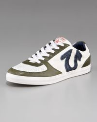 True Religion | Ace Low Sneaker in Navy/white/military for Men | Lyst