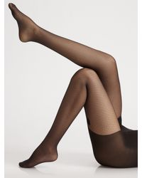 Wolford | Black Secret Bows Tights | Lyst