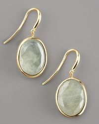 Yvel | Green Sapphire Drop Earrings | Lyst