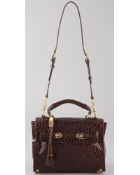 Rebecca Minkoff | Brown Jane Satchel | Lyst