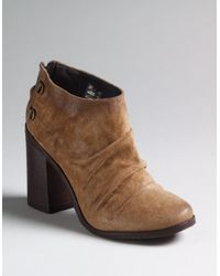 Boutique 9 - Brown Shale Slouchy Booties - Lyst