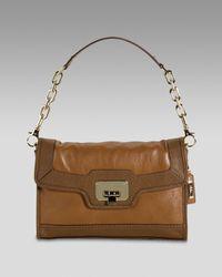 Cole Haan | Brown Jenna Shoulder Bag | Lyst