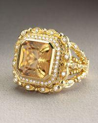 Doris Panos | Metallic Daphne Citrine Ring | Lyst