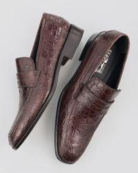 Ferragamo | Natural Gaudo Loafer for Men | Lyst