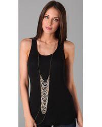 Fleet Jewelry - Brown Bone House Necklace - Lyst