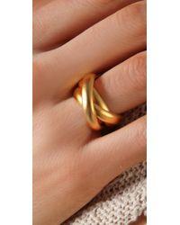 Gorjana - Metallic Infinity Rings - Lyst
