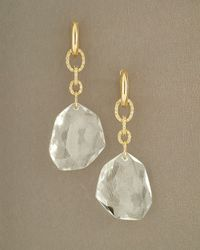 H Stern | White Dvf Rock Crystal Quartz Earrings | Lyst