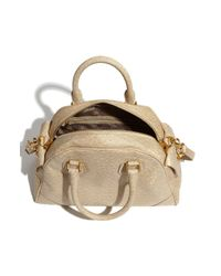 Marc By Marc Jacobs | Beige Ozzie - Baby Aidan Faux Leather Tote | Lyst