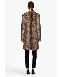 Matthew Williamson - Multicolor Rabbit Fur Leopard Coat - Lyst
