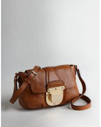Michael Kors | Brown Michael Charlton Crossbody Bag | Lyst