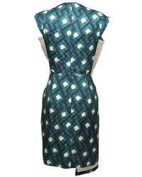 Peter Pilotto | Green Thessa Asymmetrical Dress | Lyst